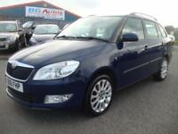 2012 SKODA FABIA 1.6 TDI CR 90 ESTATE 6 SPEED BLUE £20 YR TAX