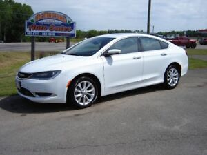2015 CHRYSLER 200c***NAV***FULLY LOADED***33500KMS***