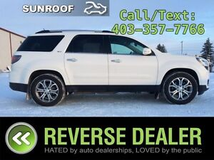 2014 GMC Acadia SLT-2 Rear DVD, Navigation, Dual Sunroof