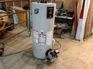 3 year old oil fired water heater
