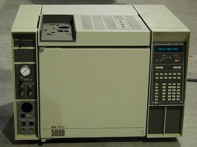 Hp Gc 5890 Hewlett Packard Gas Chromatograph 5890a