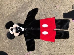 Mickey Mouse Costume 3-12months