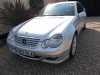 MERCEDES C200 CDI SE COUPE DIESEL 6 SPEED MANUAL FULL MB HISTORY 1 OWNER