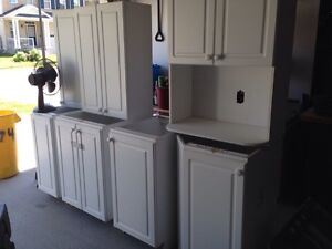 Cabinets small kitchen laundry room