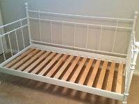 Beautiful White Day Bed Frame