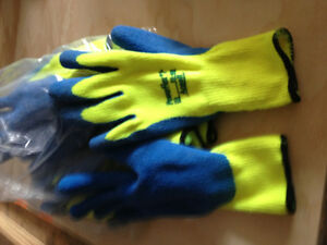 Ansell mens large weatherproof gloves