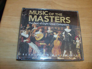 CD SET MUSIC OF THE MASTERS EIGHT GREAT COMPOSERS