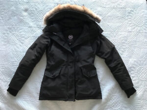 Black Canada Goose Montebello Parka Size: 2XS  (Good condition)
