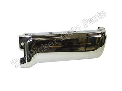 FOR 2009-2014 FORD F150 STYLESIDE REAR BUMPER END CHROME W/O SENSOR HOLE RH