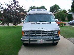 For Sale 1988 Dodge Camper Van