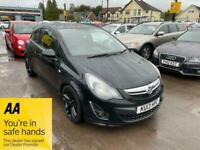 2013 Vauxhall Corsa BLACK EDITION Hatchback Petrol Manual