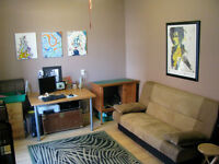 No need for a car with this conveniently located, main floor apt