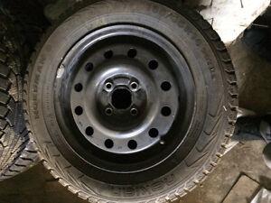pneus dhiver avec jante