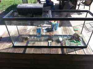 55 gallon fish tank with accessories great deal reduced!!!