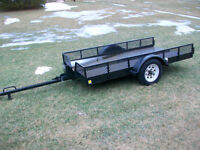 UTILITY TRAILER  BIKE TRAILER 8 FEET LONG  49 INCH WIDE