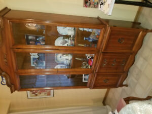 Very old China cabinet