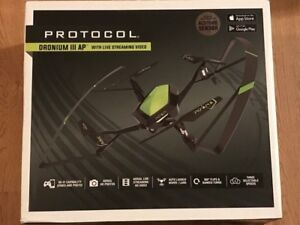 Protocol dronium III AP live streaming video Drone With Camera