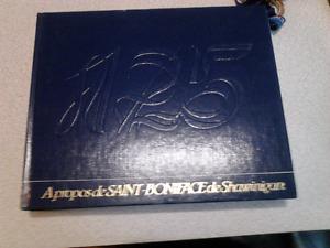 Superbe Livre Relié 125e St-Boniface de Shawinigan 1859-1984