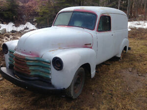 1952 CHEV 3100 PANEL..TEXAS TRUCK..RUST FREE..MUST SELL