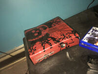selling my gears of war xbox 360 with games and a controller