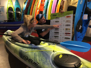 Kayak Hobie®, Old Town, Wilderness System, Elie, Aquaglide et +