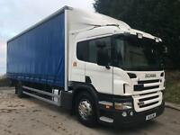 2011 11 Scania P230 sleeper cab, 28ft curtainsider, underslung tail-lift