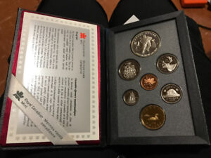 CANADIAN DOUBLE DOLLAR COIN SETS - FEW DATES LEFT