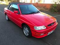 Ford Escort 1.8 105PS XR3i (105PS) Cabriolet. NO MODS. EVERYTHING IS STANDARD.