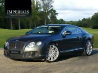 2013 Bentley Continental 6.0 W12 GT Speed Auto 4WD 2dr