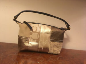 Small never used coach bag