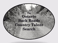 Ontario Back Roads Country Talent Search