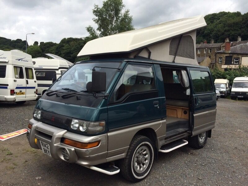 mitsubishi delica turbo diesel camper in brighouse west yorkshire gumtree. Black Bedroom Furniture Sets. Home Design Ideas