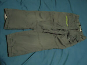 Boys size 6X grey sizeable cotton lined cargo pants Kingston Kingston Area image 1