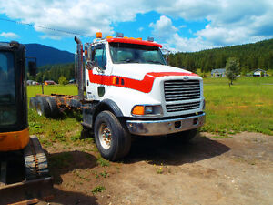 1999 Sterling , double frame ,20000lb front axle