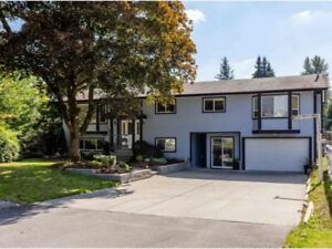 House with acerage in Langley for rent
