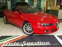 2008 Alfa Romeo Spider 2.4 JTDM 2dr Diesel red Automatic