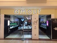 Part-time Sales Associate for Amour Jewellers