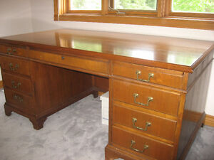 Vintage Jackson (Stonewall) Executive Desk