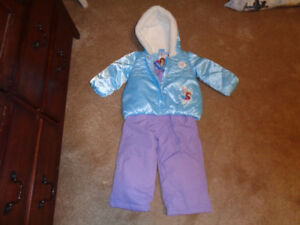 NEW tags on 2 Piece FROZEN SNOW SUIT size 2 T