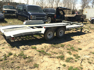 Car Trailer GalVanized