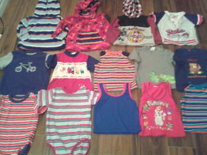 BOYS 2T CLOTHING- 18 PIECES- was $15,limited time sale.