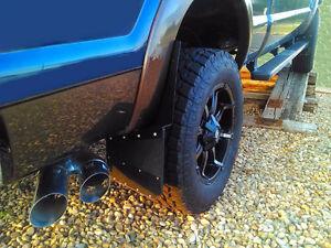 Universal Black Mud Flaps- powder coated  marine aluminum Peterborough Peterborough Area image 3