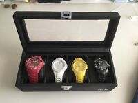 ICE watches and display case