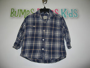 Boy's 2T (Baby gap) plaid long sleeve