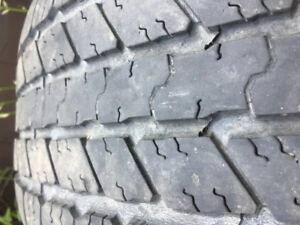 275/55r20 set of 4 Goodyear's