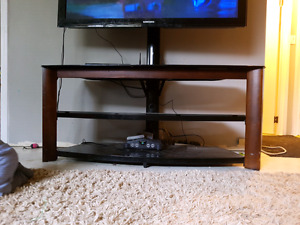 Entertainment stand.