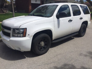 Chevy Police Tahoe