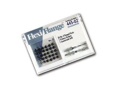 Flexi Flange Eds 2 Blue Titanium Economy Refill Post 30pkg 445-02