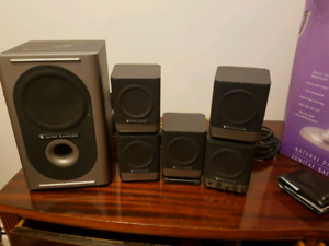 Altec lansing  5.1 pc speakers