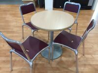 Canteen Furniture - 19 Chairs & 6 Tables